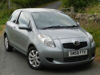 2009 TOYOTA YARIS 1.4 TR D4D - DIESEL - 12 MONTHS MOT - SERVICE HISTORY - ONLY £30 ROAD TAX