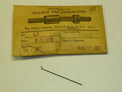 Walton 12 Tap Extractor Replacement Fingers 12123