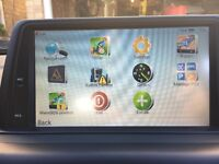 BMW SAT NAV AND AUDIO SYSTEM