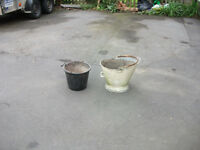 Coal bucket for planter,