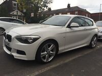2015 BMW 120D M-SPORT, 9000 MILES, ONLY £16,495
