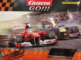 Carrera Go Hot lap set with cars (similar to scalextric)