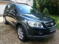 2008 chevrolet captiva ltx 2lt d 4x4 7 seater spares repair not damaged loads spent on engine