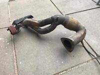 """1.8T Decat Downpipe Stainless 3"""" Inch"""