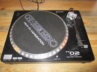 gemini TT02 direct drive DJ's turntable