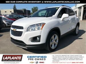 2016 Chevrolet Trax LTZ + Sunroof + Leather