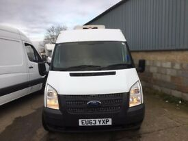 FORD TRANSIT LWB FRIDGE VAN.2013.CHOICE OF 3 VANS.3.5 TON.EURO5.LOW MILES