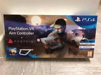 PlayStation VR Aim Controller + Fairpoint - Brand New