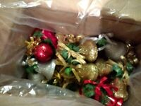 22 sets of Gold Red Silver White Hanging Twin Bells