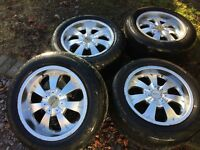 "mitsubishi L200 18"" alloys and tyres"