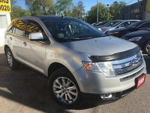 2009 Ford Edge Limited/AWD/NAVI/LEATHER/ROOF/LOADED/ALLOYS