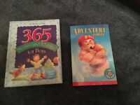 2 Books - 365 Stories and Rhymes for Boys Treasury and adventure stories for 6-year olds