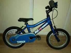 Ridgeback mx14 kids bike - 14 inch wheels - expensive new