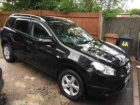 Nissan qashqai +2 1.5dci low miles 7 seater