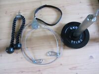 portable exercise cable system