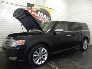 2011 Ford Flex Limited AWD, Toit ouvrant, Bancs en cuir, Tv/Dvd