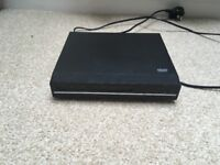 DVD player with scart lead