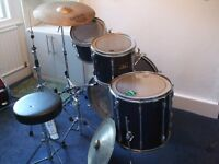 Pearl Export Navy Blue Drum Kit