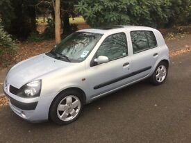 Renault Clio 2002 Reg Automatic 1.4 only 21,000 miles Genuine £1,295ono