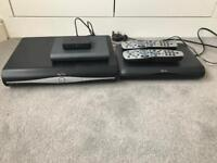 Sky Plus HD Boxes,room link and remote controls