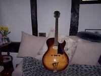Washburn J4 Jazz Archtop guitar.