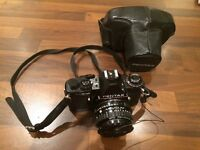 Pentax SE Super SLR camera & 50mm 1:1.7 lens