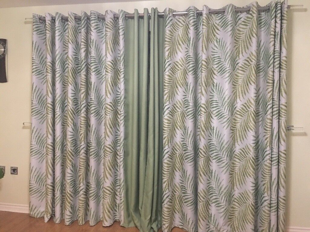 Used Tropical blackout curtains