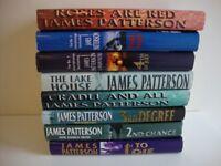 8 JAMES PATTERSON BOOKS