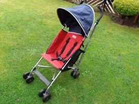 Maclaren triumph lightweight pushchair stroller pram