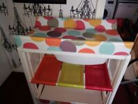 Cosatto baby changing/bath table