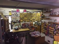 key cutting shoe repair trophy shop contents & business for sale stockport