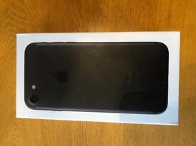 iPhone 7 128Gb Unused Matt black UNLOCKED