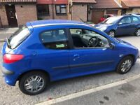 Lovely Peugeot 206 very low mileage
