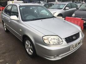 Hyundai Accent 1.6 CDX 5dr NEW MOT WITH NO ADVISORY