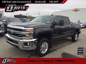 2015 Chevrolet Silverado 3500HD LTZ HTD/CLD SEATS, SUNROOF, R...
