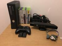 Xbox 360 250gb bundle with Kinect