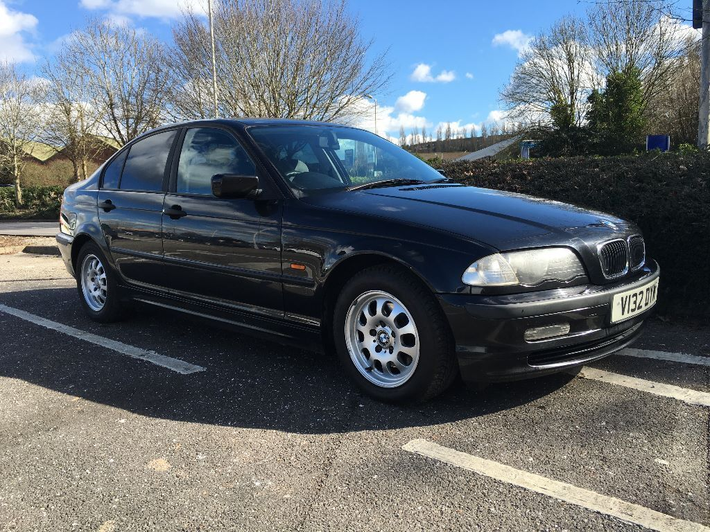 1999 bmw e46 318i se cosmos black metallic 4 door saloon. Black Bedroom Furniture Sets. Home Design Ideas