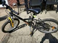 BTwin 16 inch bike