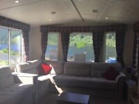 ***2 bedroom holiday home REDUCED was £34,995 NOW £29,995. Quiet Park at Loch Eck. *****