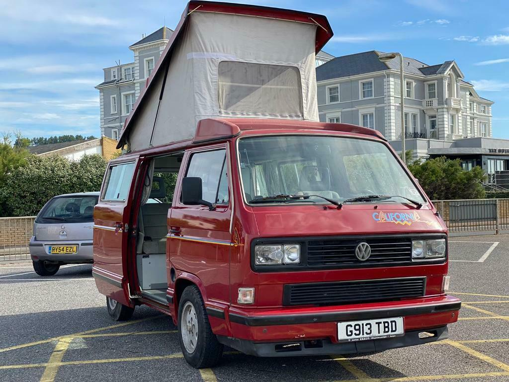 Vw T3 Westfalia California Camper Van In Hythe Kent Gumtree