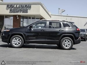 2016 Jeep Cherokee FINANCE MANAGER DEMO | NORTH | 4X4 | BACK UP  Cambridge Kitchener Area image 3