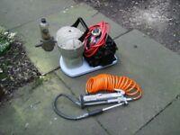 Small Air Compressor.