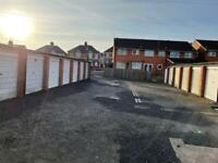 GARAGE TO RENT - AVAILABLE 24 FEB £17.31 A WEEK - NEW ROOF