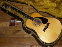 Yamaha L-25A hand crafted dreadnought acoustic 1981