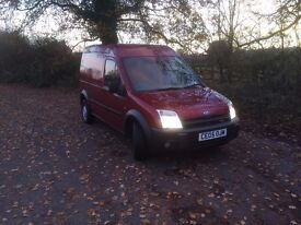 Ford Transit Connect T230 LX TDCi High Roof LWB Ply lined with 6 months MOT