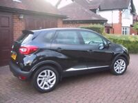 Renault Captur Media Nav,0.9Tce,2014,18650 miles,immaculate,condition with FRSH,£30 a year tax.