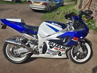 GSXR 750 Superbike Motorbike Motorcycle.