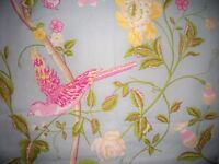 Laura Ashley half price wallpaper - Summer Palace Design, floral duck egg blue, 3 rolls