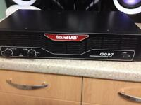 Sound lab professional. Amplifier