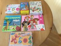 Various craft items for children aged 5 upwards
